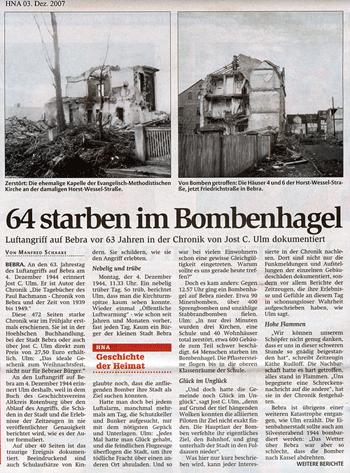 Bombenhagel